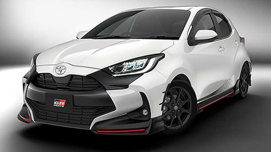 New Toyota Yaris already upgraded by TRD and Modellista