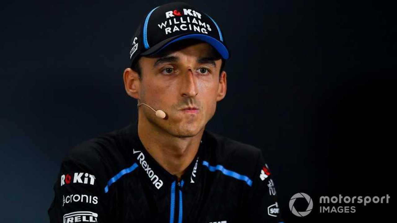 Robert Kubica at Singapore GP 2019
