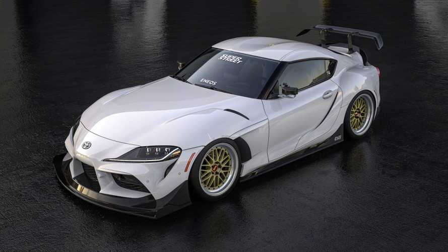 Toyota Supra Widebody Kit Coming To SEMA Looks Wicked