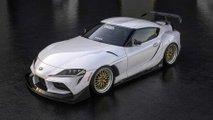 Toyota Supra Widebody Kit für die SEMA sieht heiß aus