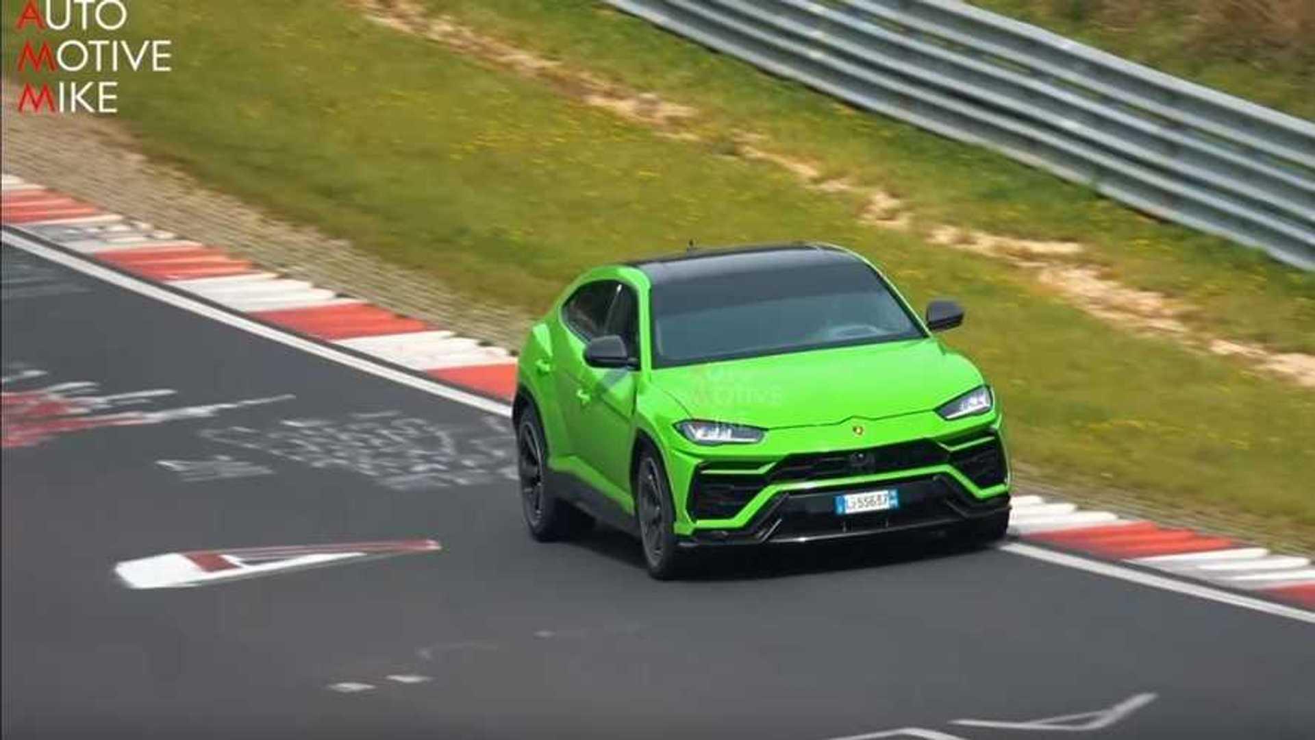 Une version plus performante du Lamborghini Urus est à venir
