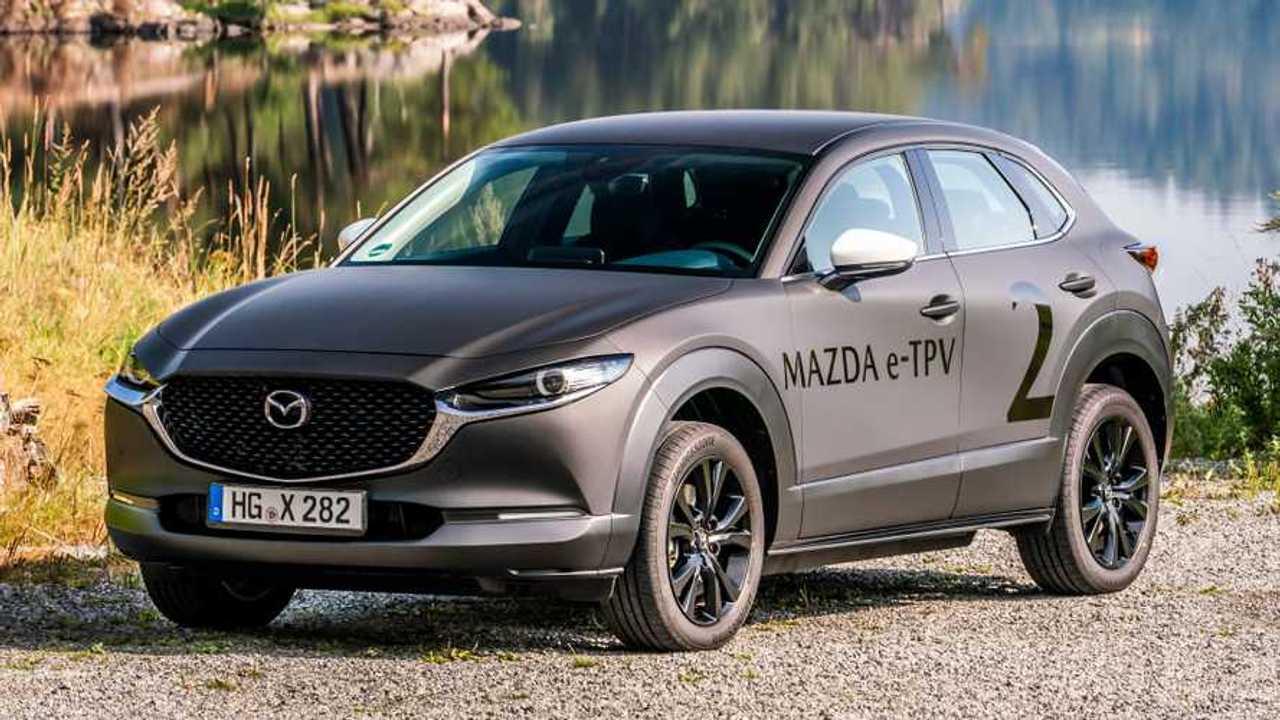 Prototipo de automóvil eléctrico Mazda e-TPV