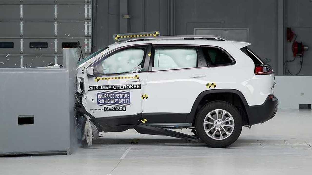 2019 Jeep Cherokee IIHS Crash Test