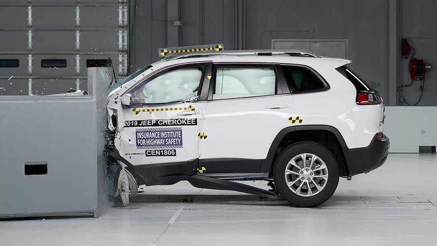 2019 Jeep Cherokee Ranked Among Safest Midsize SUVs