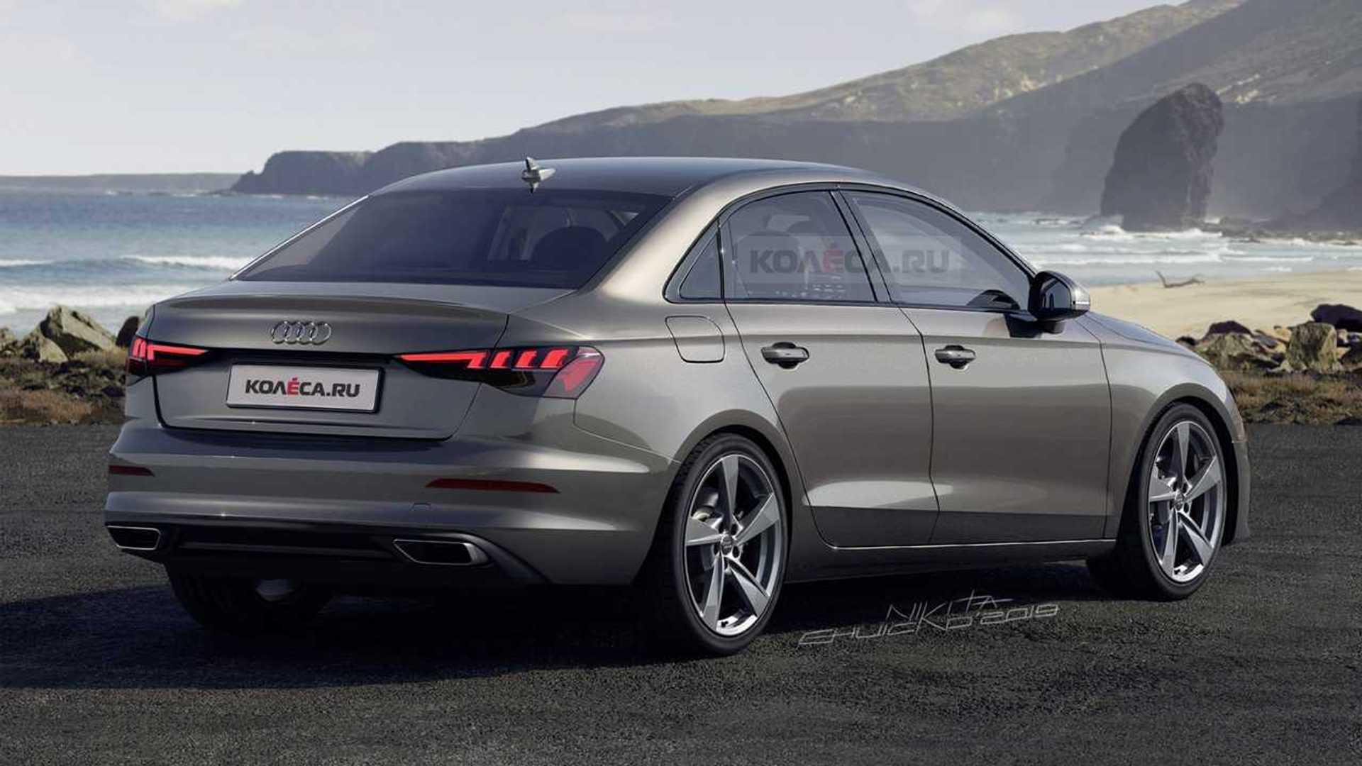 Neue Audi A3 Limousine (2020) im Rendering