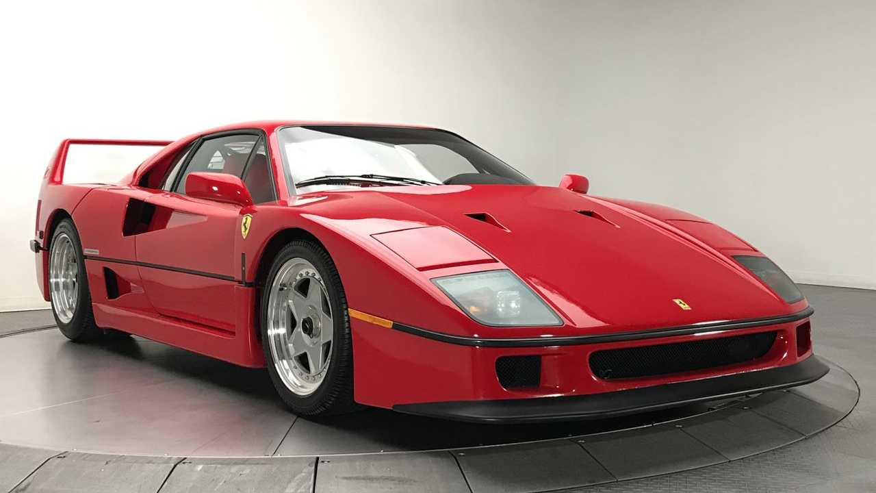 Ten Things You Didn't Know About The Ferrari F40