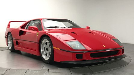 Ten things you didn t know about the ferrari f40