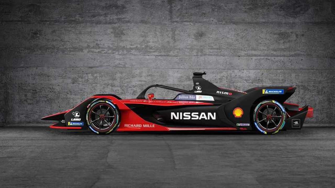 Nissan e.dams Formula E entry Season six