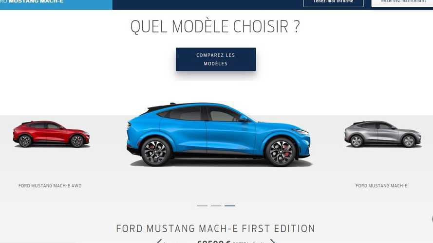 Configurateur Ford Mustang Mach-E