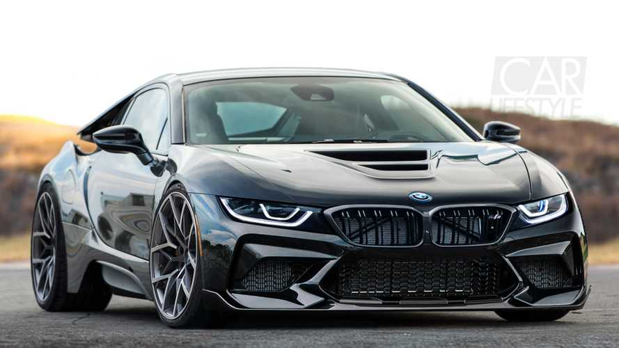 BMW i8 M Rendering Imagines A Car That'll Likely Never Happen