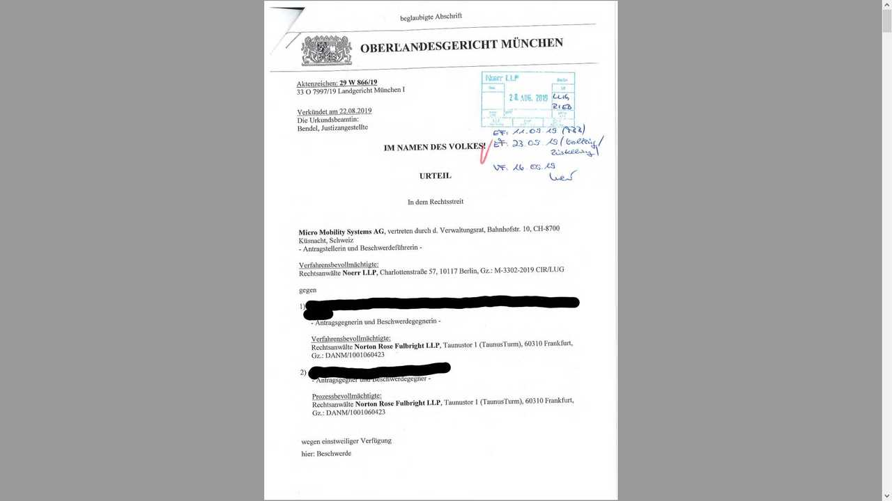 This Is The Legal Decision Against Artega On The Microlino Affair