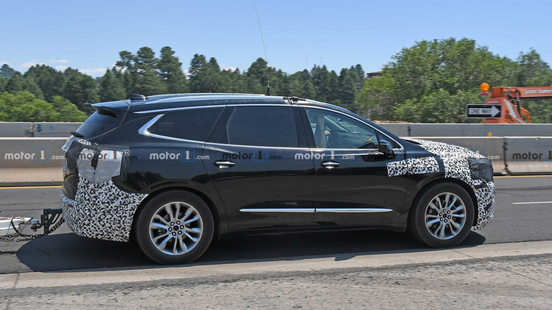 2021 Buick Enclave Spied For The First Time | CarsRadars