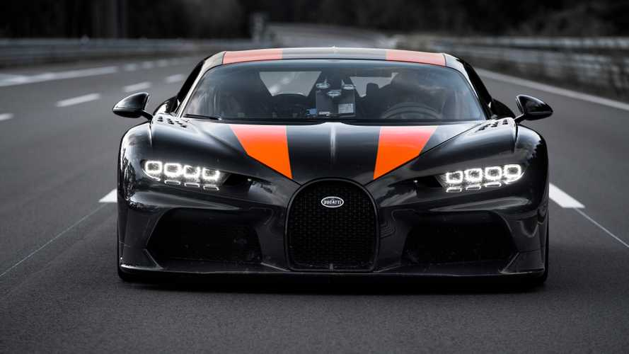 This is why Bugatti's Chiron hit 304 mph in only one direction