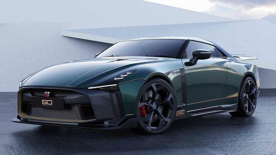 Quelques Nissan GT-R50 à près d'un million d'euros sont encore à vendre