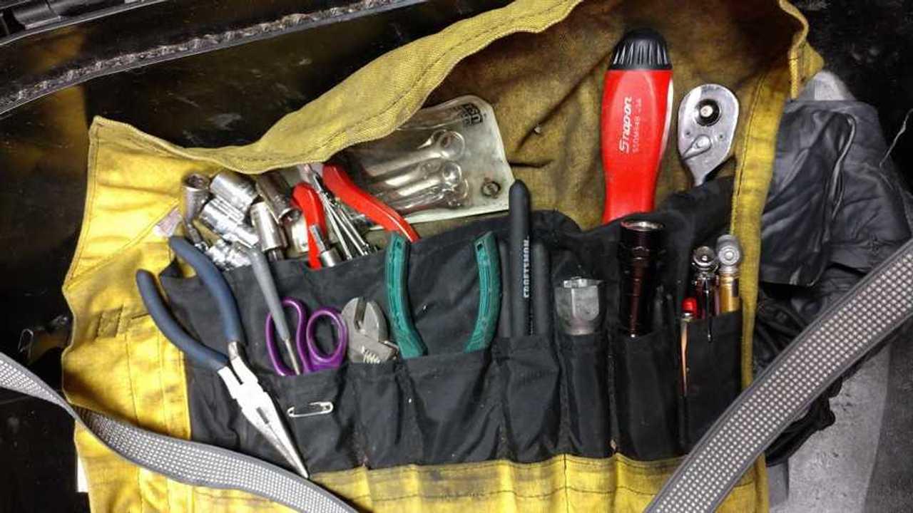 On Board Motorcycle Tool Kit