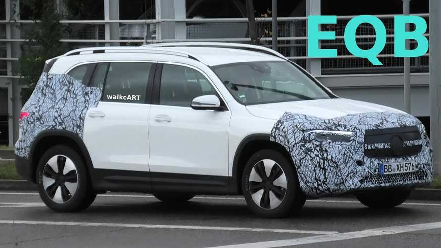 2021 Mercedes EQB Spied Silently Testing In Public