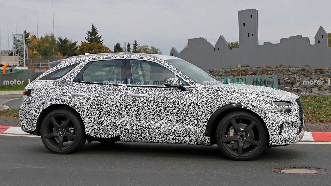 Genesis Gv70 Spied For The First Time With Production Body