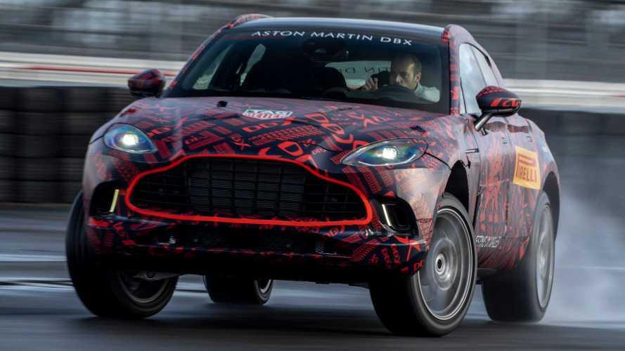 Aston Martin DBX (2020): Letzte Tests vor der Premiere