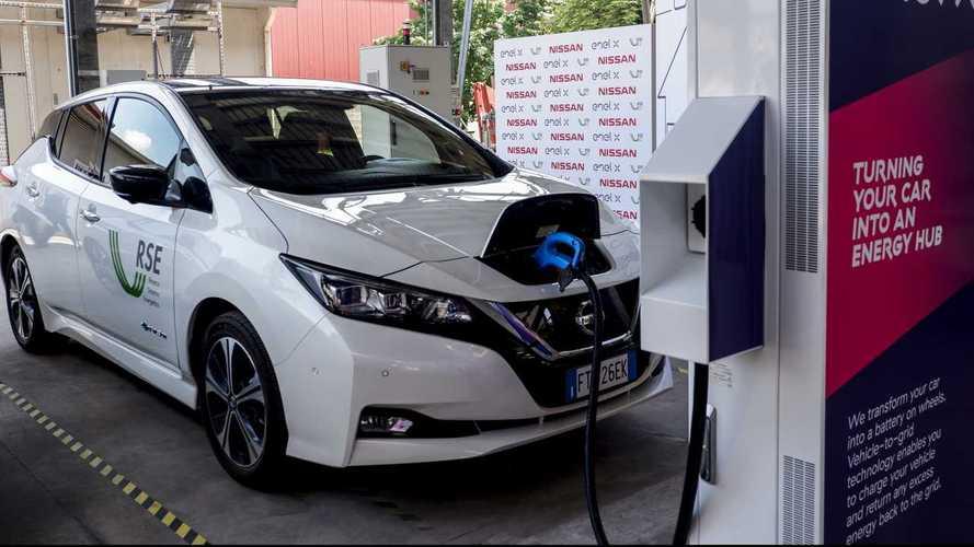 Carregamento - Nissan Leaf