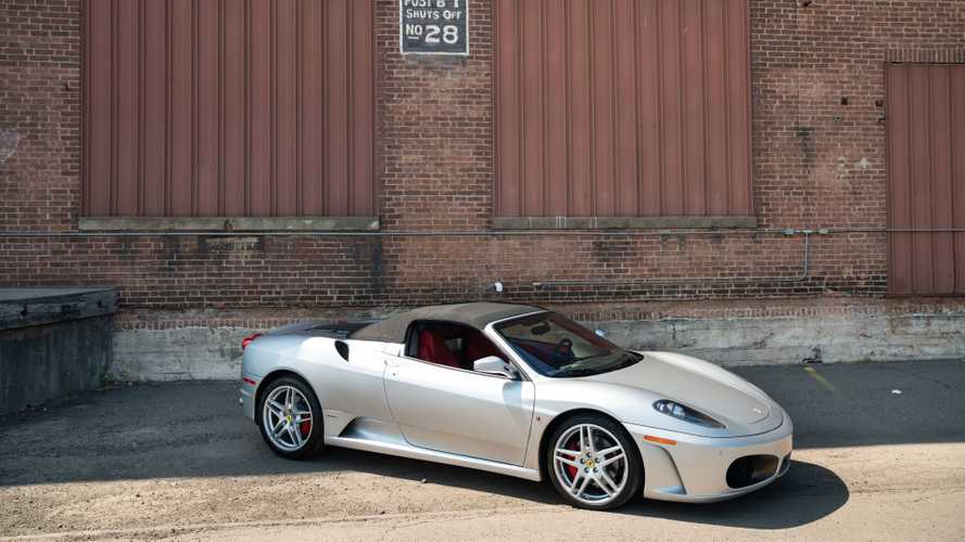 Gorgeous 2007 Ferrari F430 Spider Is A Gated Manual
