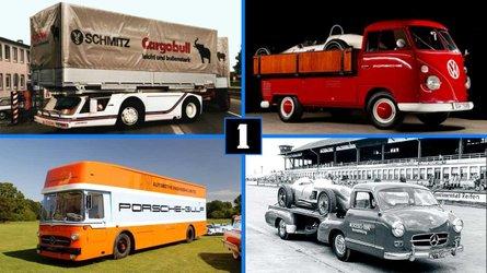 5 camiones realmente especiales: transportistas únicos