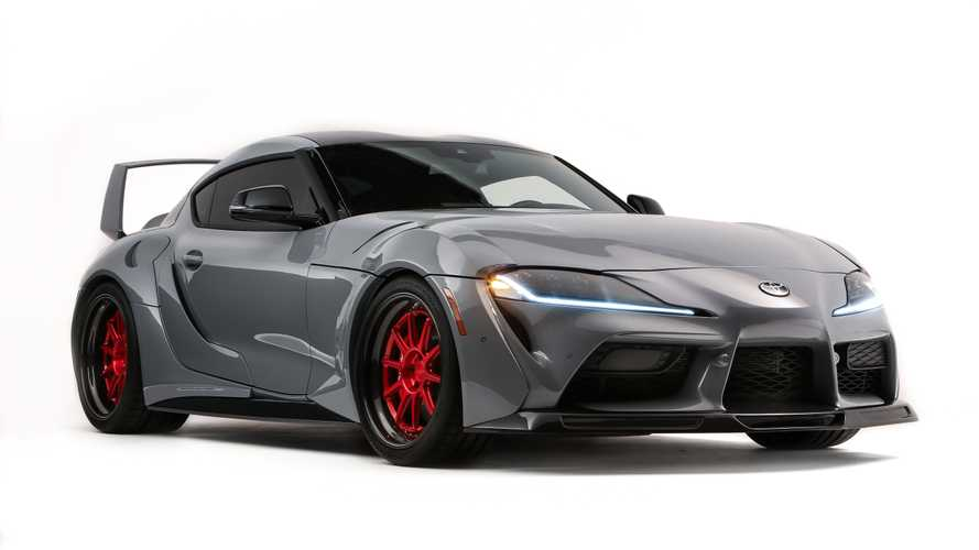 Toyota GR Supra HyperBoost Edition hits SEMA with more than 750 bhp