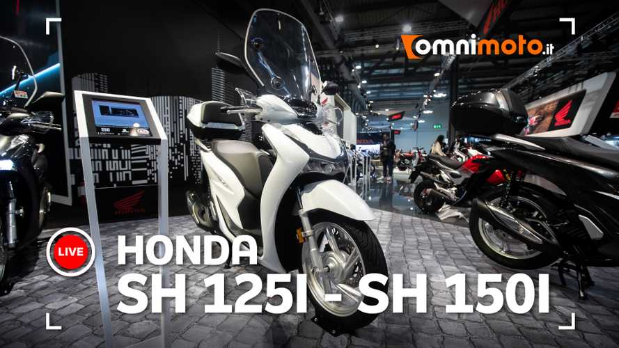 Honda SH 125i e Sh 150i 2020, ad Eicma 2019 i best-seller si rinnovano
