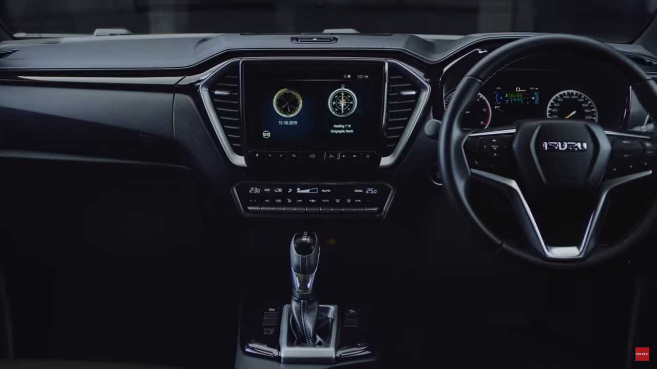 Isuzu D-Max 2020 se distancia da Chevrolet S10 e ganha cara de mau