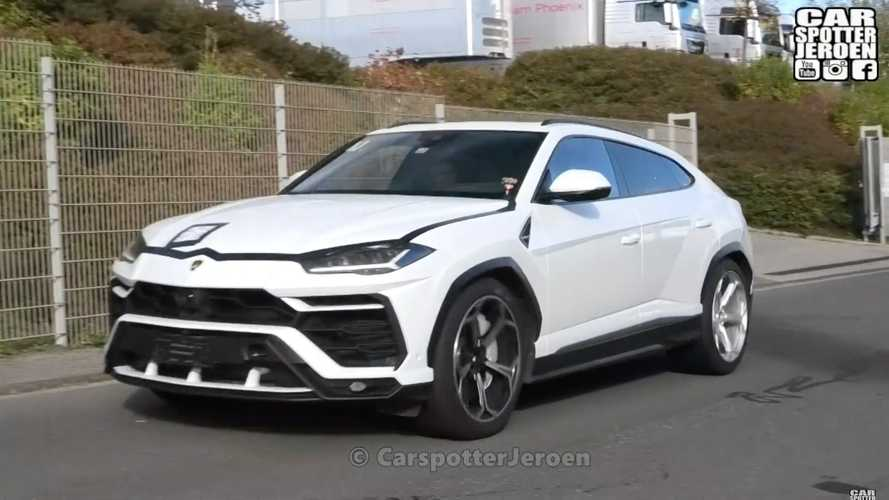 Is Lamborghini Testing the hotter Urus ST-X at the Nürburgring?