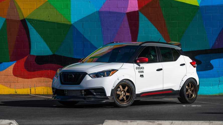 Nissan Kicks Street Sport Stalks SEMA As A Tuned Compact Crossover