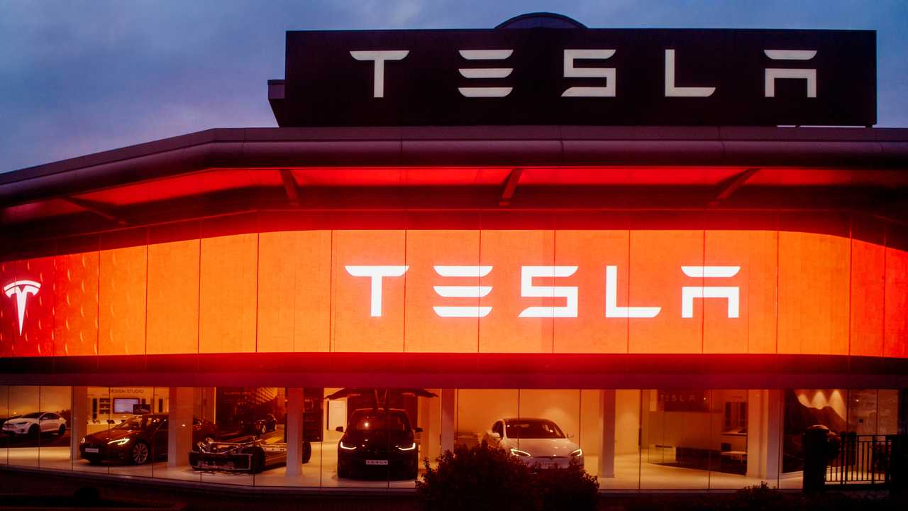 Tesla Motors showroom  in central London