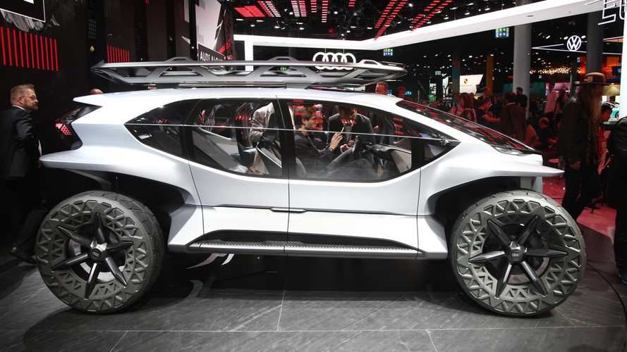Audi AI:Trail Quattro Concept previews future emission-free off-roader