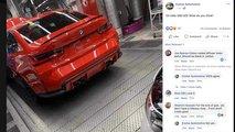 BMW M3 G80 ungetarnt am Band erwischt