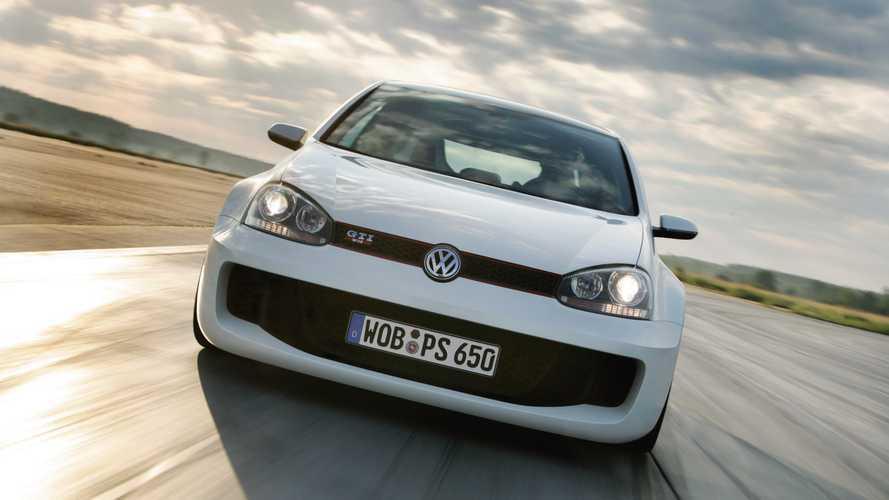Prototipos olvidados: Volkswagen Golf GTI W12 650 (2007)