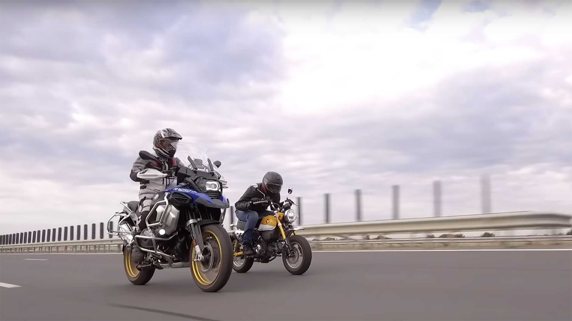 BMW R 1250 GS Vs Honda Monkey Is The Only Review You Need