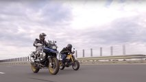 bmw r1250gs honda monkey comparison video