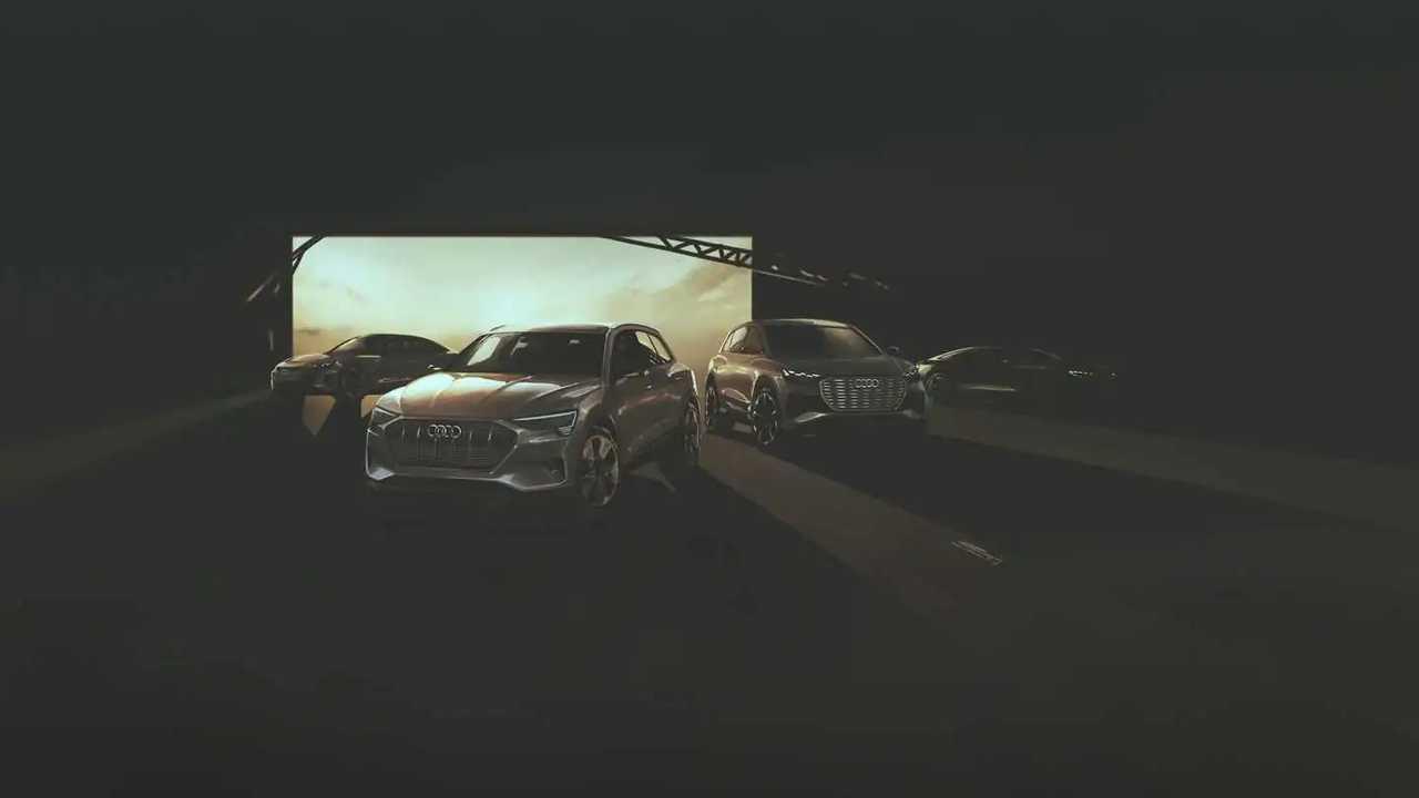 Nuovo concept teaser elettrico Audi Sportback