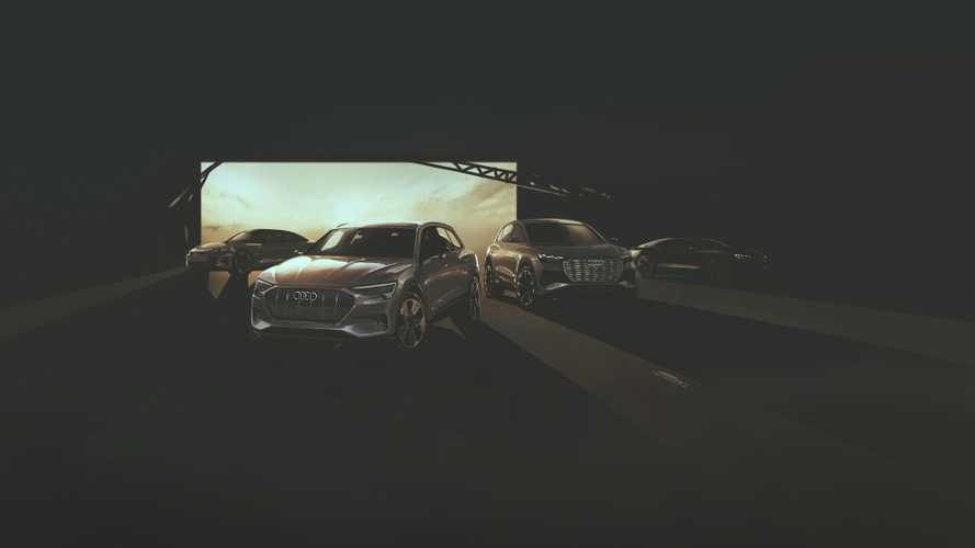 Audi new electric Sportback concept teasers