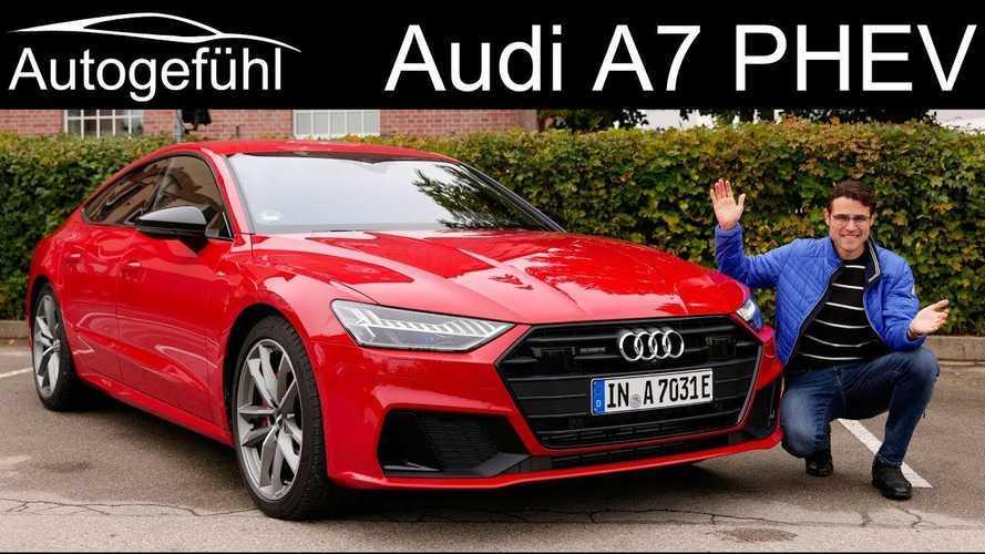 Audi A7 Sportback 55 TFSI e quattro PHEV Impresses Autogefühl