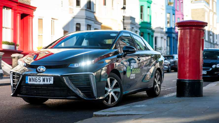 Hydrogen-powered Toyota taxi fleet passes million-mile mark in London