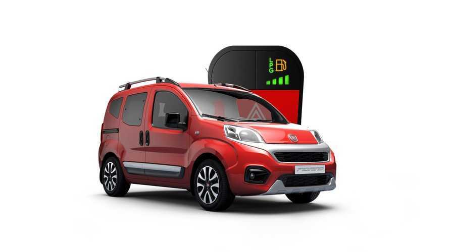 Fiat Fiorino'ya LPG seçeneği eklendi