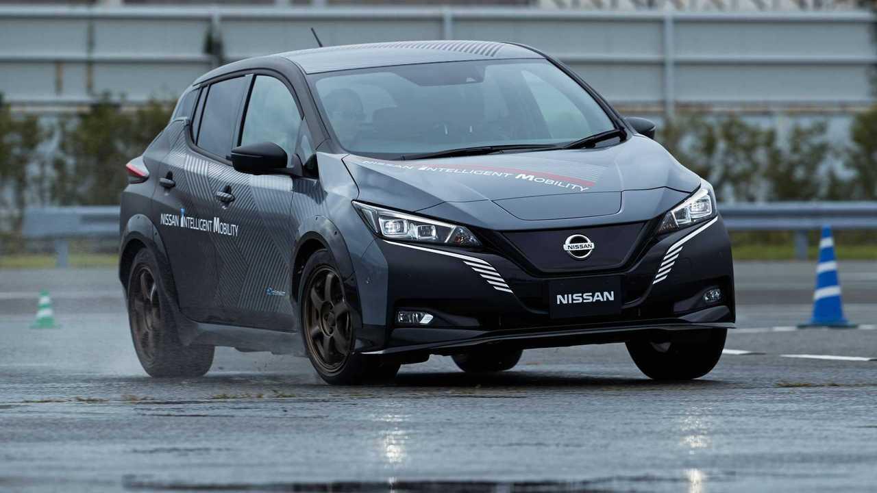 Nissan-Prototyp auf Basis des Leaf e+