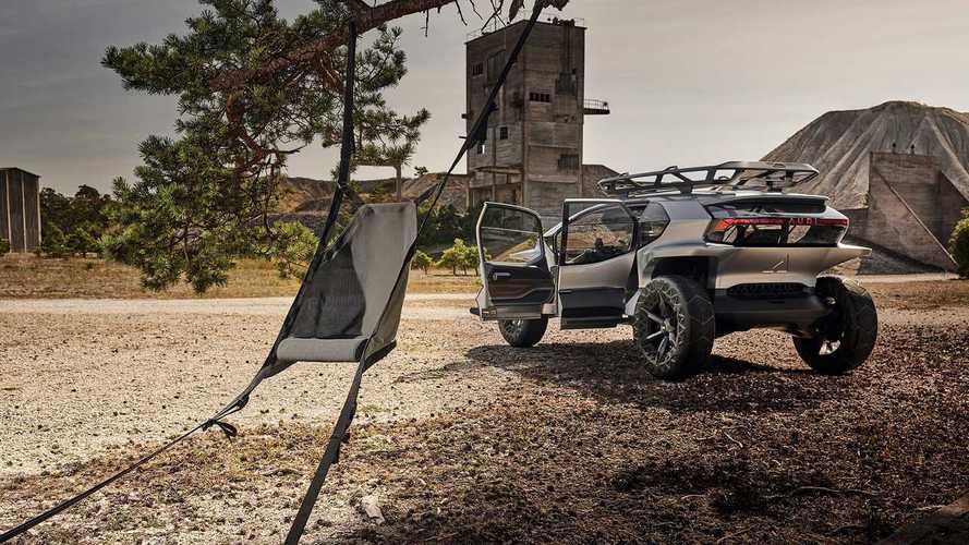 Az Audi AI:TRAIL-t mintha nem erre a bolygóra tervezték volna