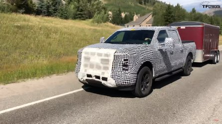 ford f 150 spied mountains