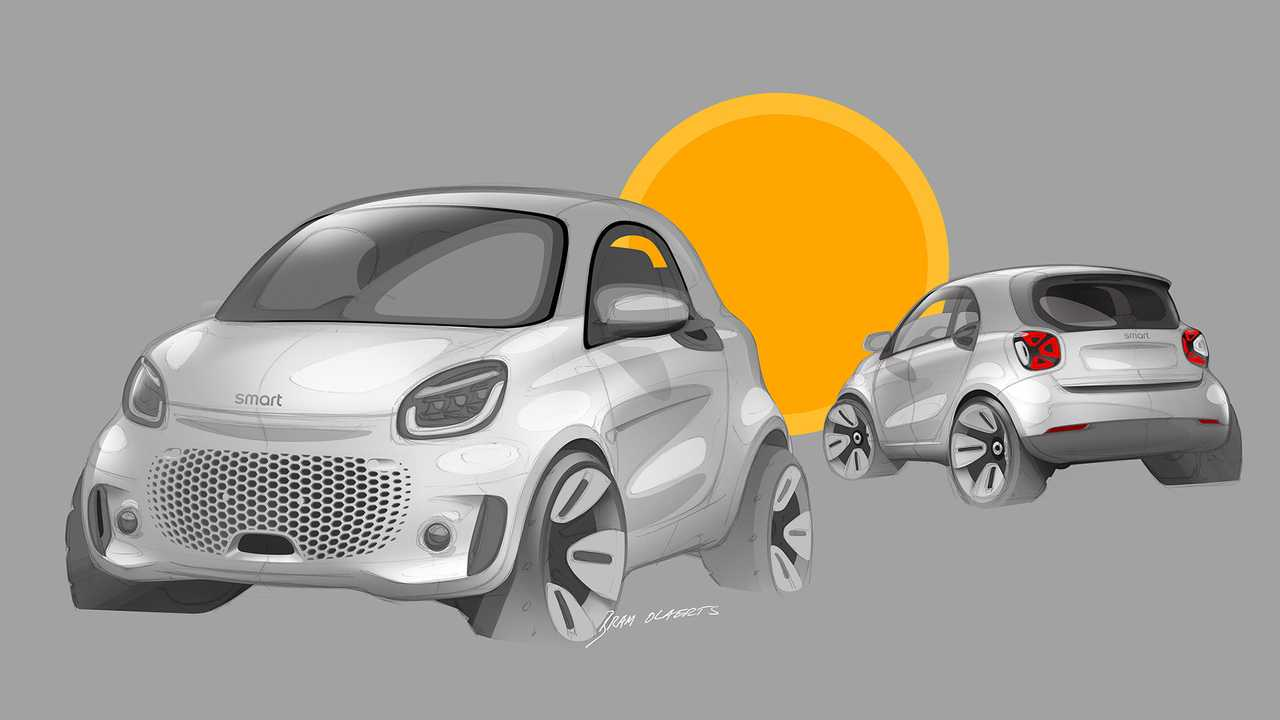 smart EQ fortwo e EQ forfour restyling