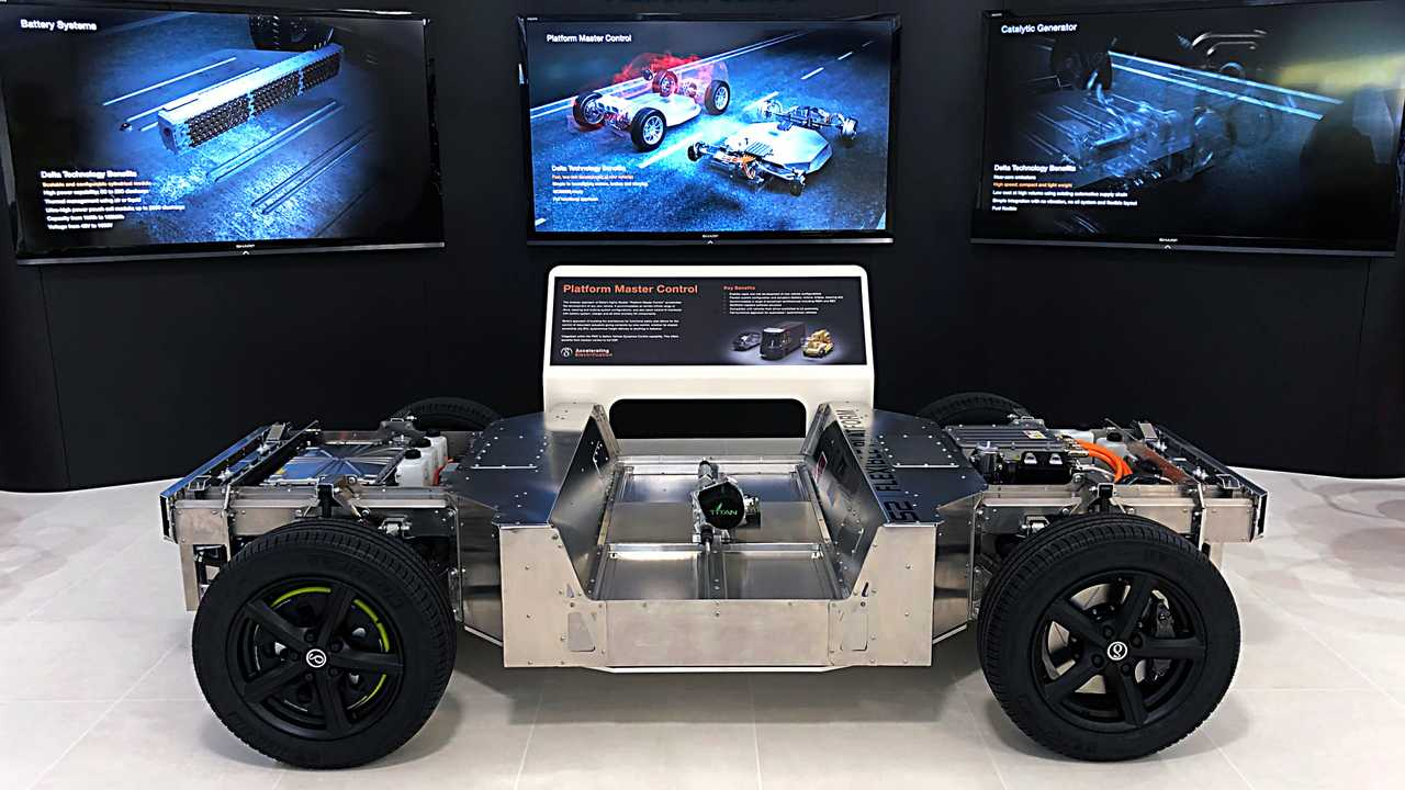 Delta S2 flexible vehicle platform