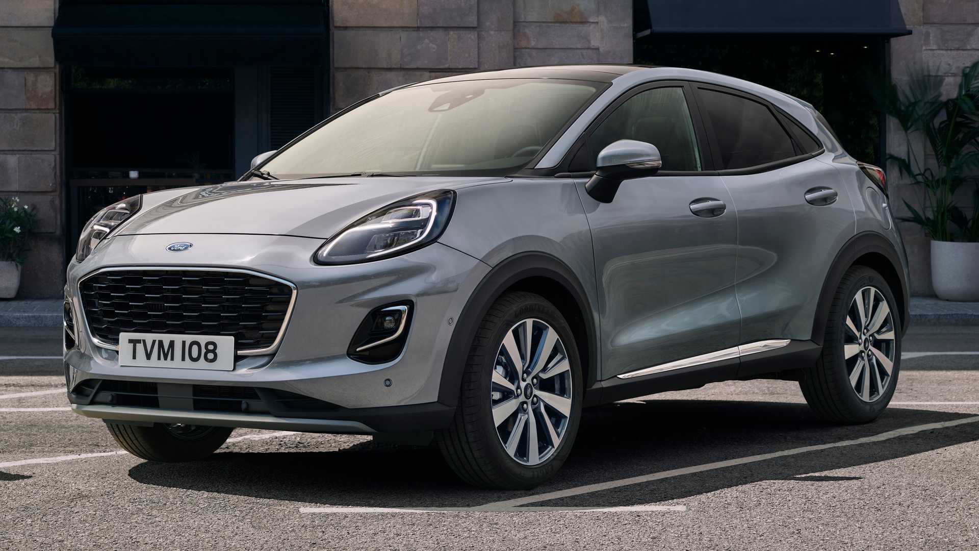 2020 Ford Puma Titanium X Motor1 Com Photos