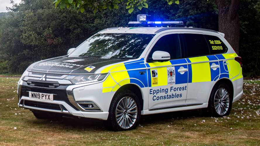 Mitsubishi Outlander PHEVs to protect 'London's great Forest'