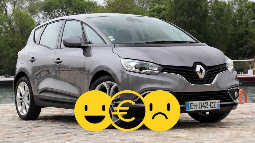 Promozione Renault Scenic, perché conviene e perché no