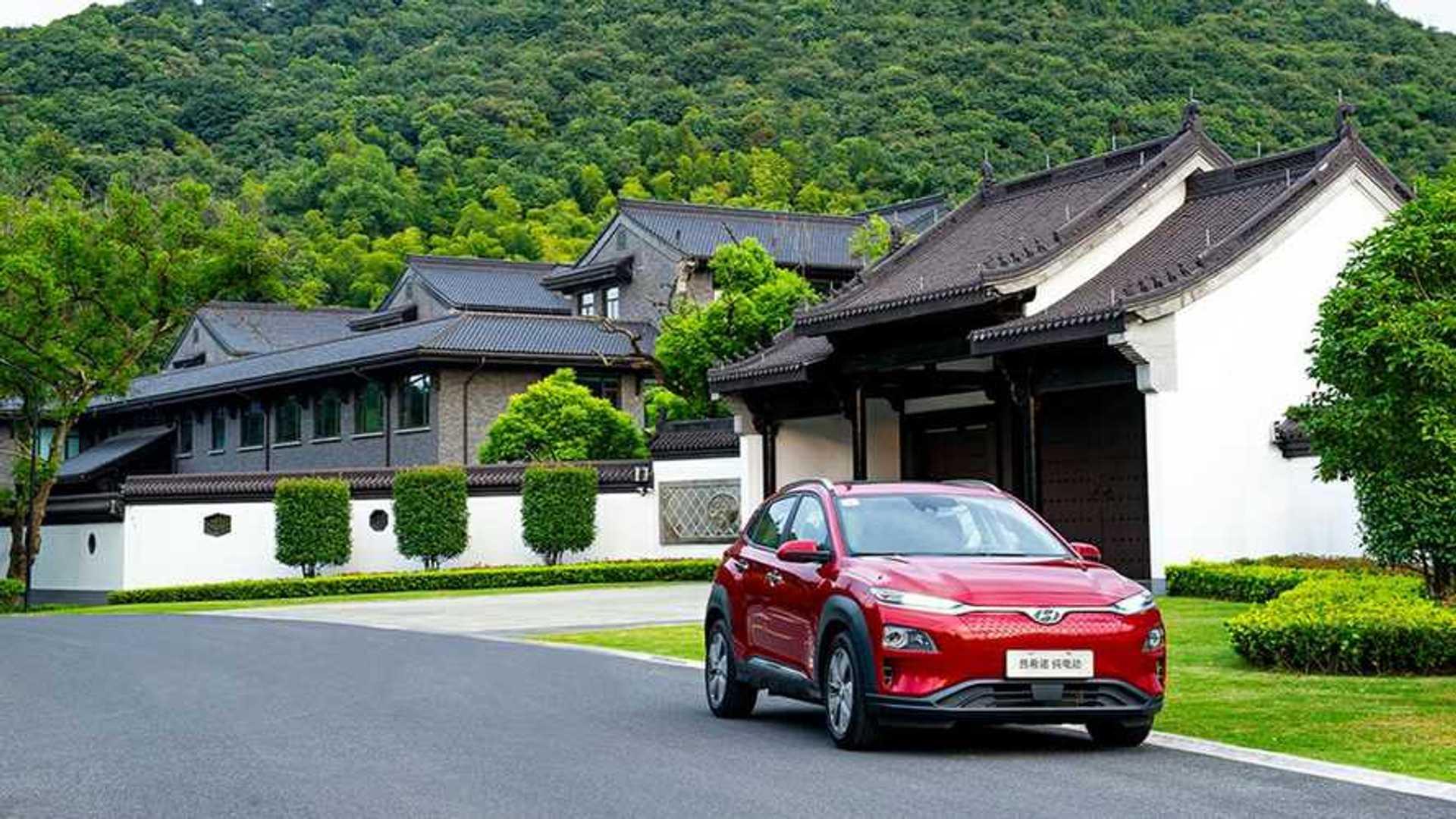 Hyundai Sells The Kona Electric In China As Encino EV For
